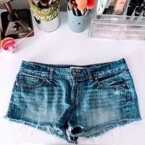 PINK VS | Denim Cut-Off Shorts